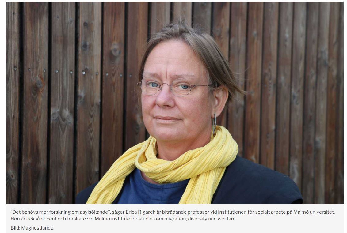 Our Swedish partner, Erica Righard, was recently interviewed by @sydsvenskan newspaper on an amendment to a law on the #reception of #AsylumSeekers in #Sweden.  The interview, noting #GLIMERResearch work, is available at:  https://t.co/s5aRrCiiuC   @H_Emilsson @MalmoUniversity https://t.co/3boJHt2vW6
