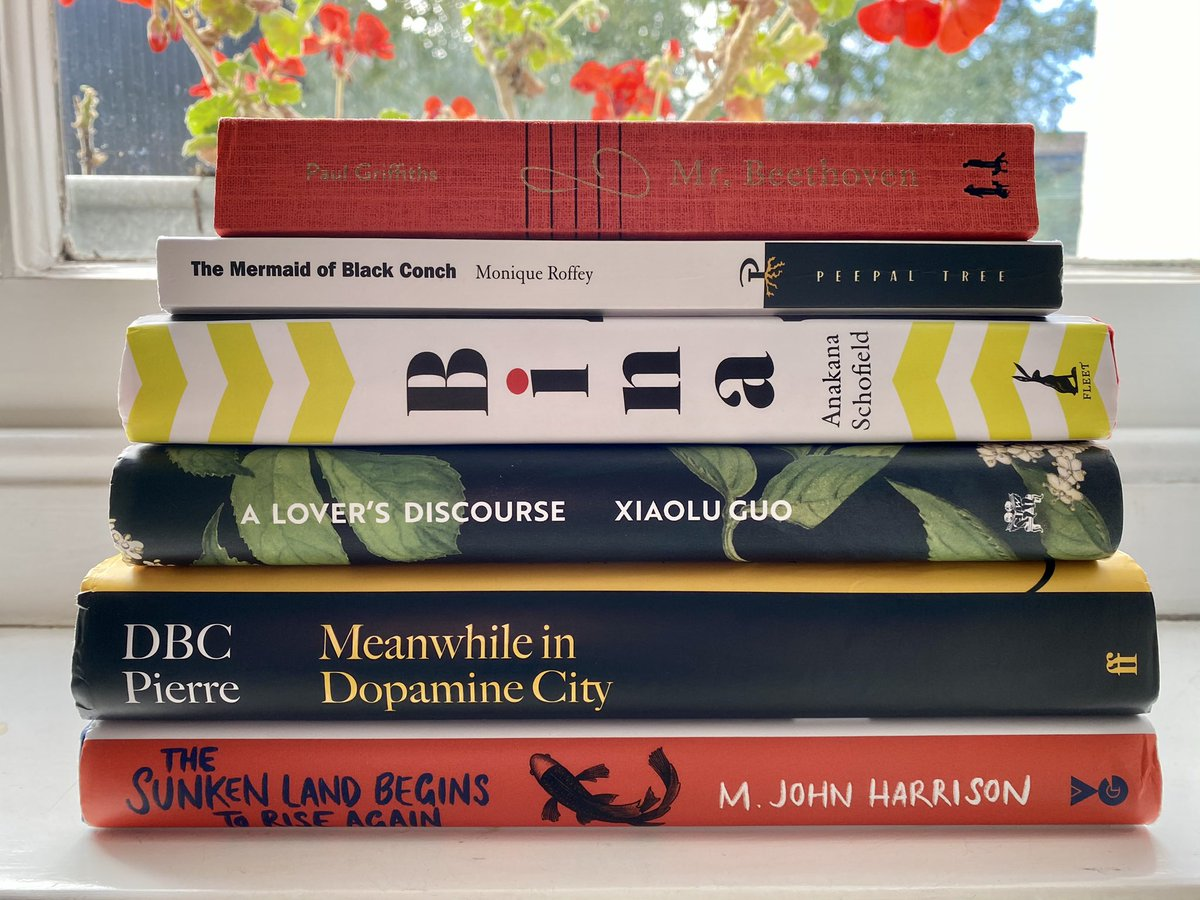 ICYMI here's the @GoldsmithsPrize shortlist for 2020: no leaders, no laggers, just a pile of great & inventive novels.