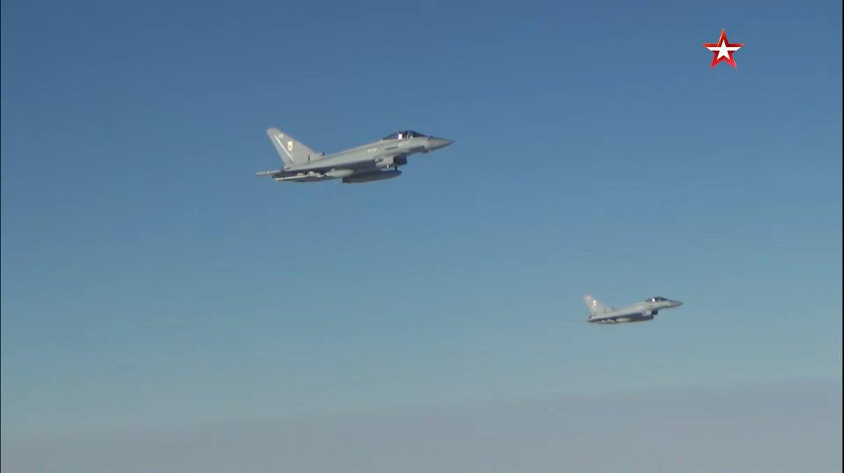 Ту-160 над Северным морем