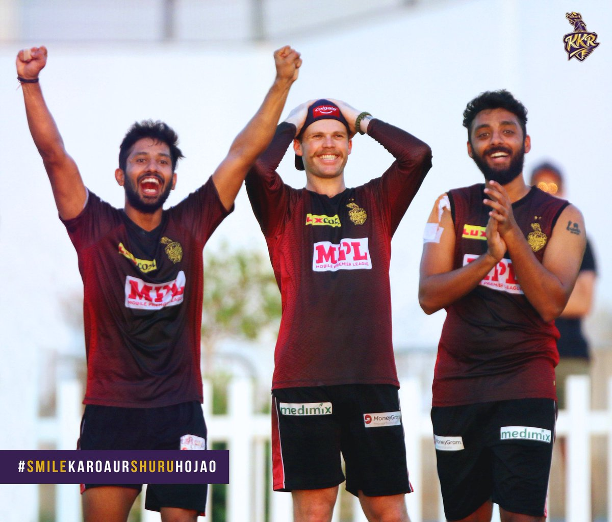 Thank you for making millions of our fans smile! 😁  Welcome onboard @ColgateIndia.  #SmileKaroAurShuruHojao #KKRHaiTaiyaar #Dream11IPL