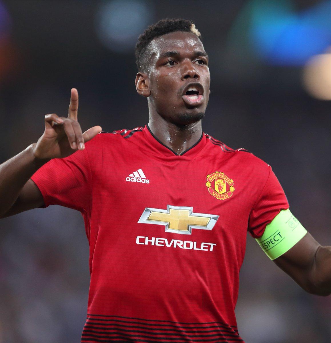 He 𝙝𝙞𝙩 that ☄️  🔴 #MUFC  ⚽ #GoalOfTheDay  🇫🇷 @PaulPogba