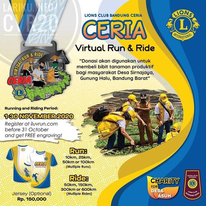 Ceria Virtual Run & Ride • 2020