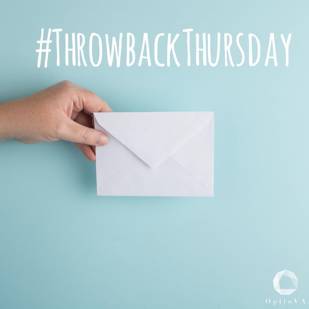 #ThrowbackThursday   'Letters are better than emails.'   Do you agree/disagree? 👆  Last week was #WorldPostDay ✉️ The Royal Mail was established in 1516, over 500 years ago!  When was the last time you sent a letter?  Do you enjoy or dread receiving them?