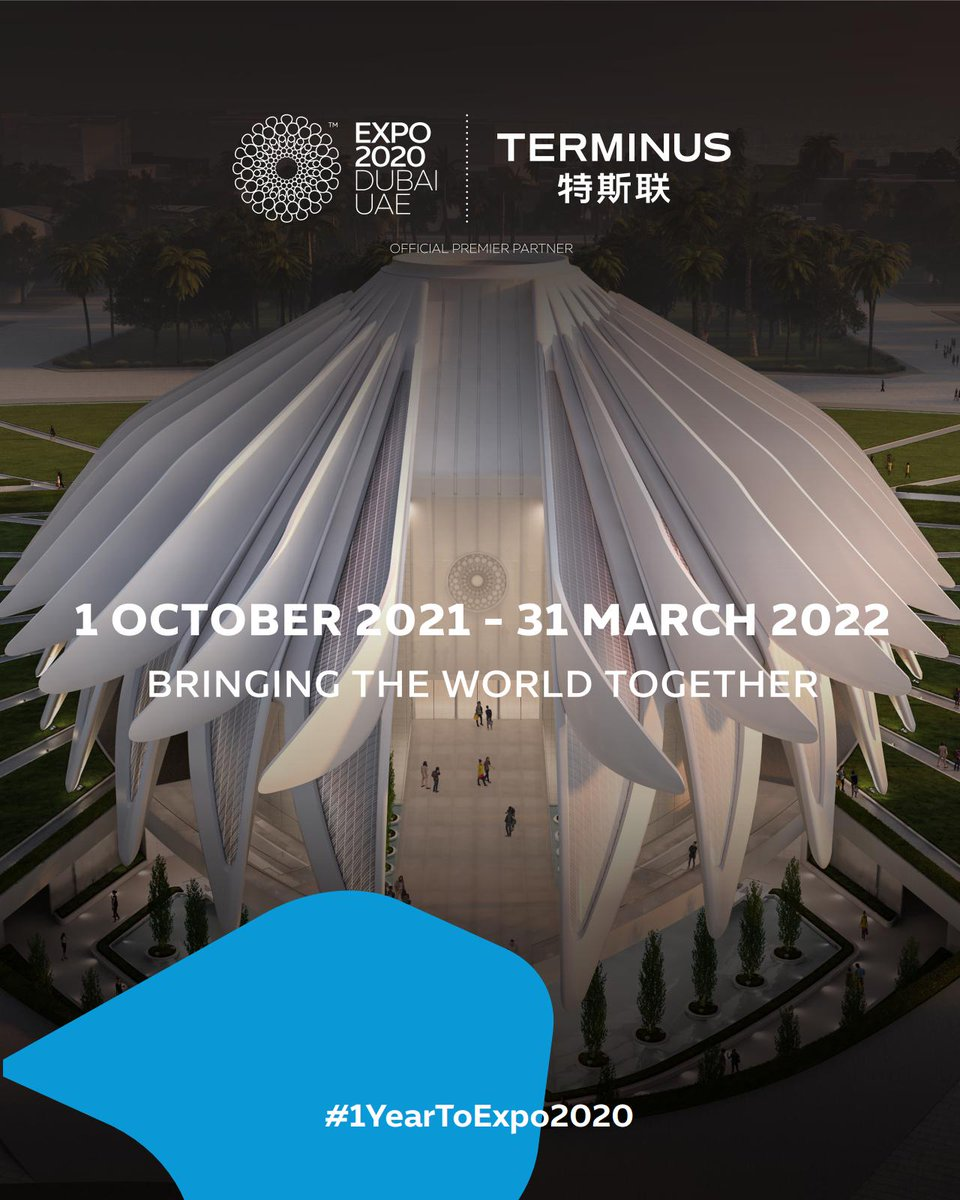 Welcome to interact with Terminus' Opti Robot at @expo2020dubai in Dubai in 2021. We and Opti looking forward to seeing you here. 😍😊😜#1yeartoExpo2020 https://t.co/nzJmO38bUg