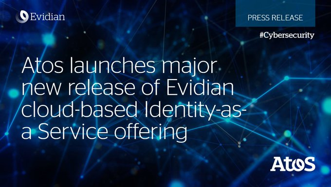 Today we announce a new release of #Evidian Identity-as-a-Service offering. This new version...