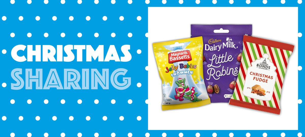 Christmas is quickly creeping up on us, so don't forget to stock up on everything from festive favourites to sharing packs to ensure you make the most out of your seasonal sales! 🎄 🍋  Check out our Christmas sharing range here 👉 https://t.co/jiQhx2LBzX https://t.co/EeVuXUGg6X