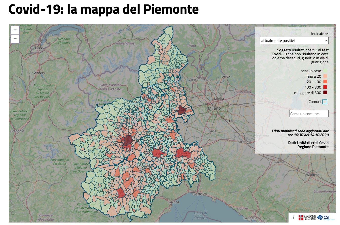 La Cartina Del Piemonte.Andrea Mignone On Twitter Covid 19 La Mappa Del Piemonte Https T Co 2k6j9nxlfl