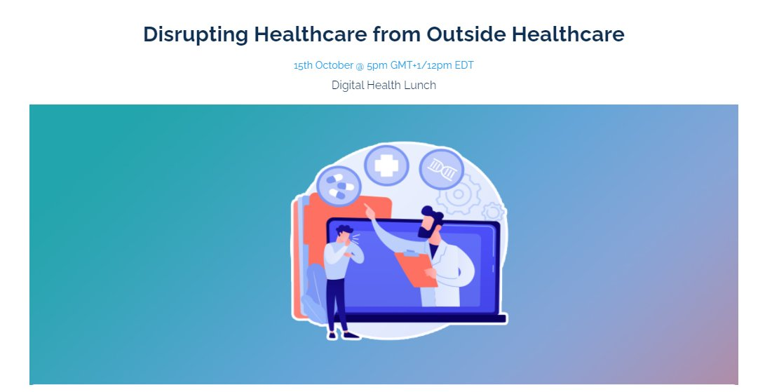 """We @StopTB, @JackieinGeneva are excited to join @health_xl panel today along with other thought leaders, to discuss """"Disrupting Healthcare from Outside Healthcare"""" Tune in to know more & share insights on key digital health issues! 🗓️Oct 15 @ 5pm GMT+1 👉https://t.co/ds0Ct5K63o https://t.co/qb3poD7GX7"""