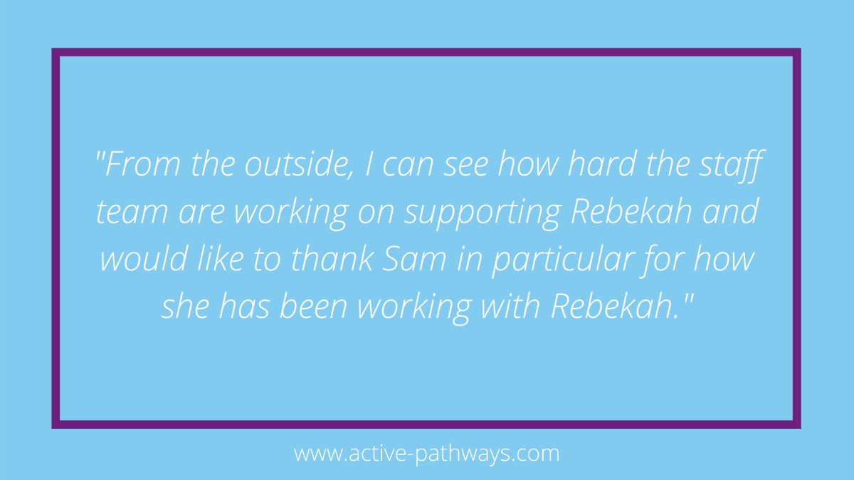 Well done to Sam and the team at Park Place who recently received some great feedback 👏 #occupationaltherapy #rehabilitation #rehab #mentalhealth #mentalhealthmatters  #mentalhealthadvocate #dailymotivation #mentalhealthrecovery #keyworkers #recovery #leeds #teamwork