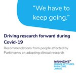 Image for the Tweet beginning: Pleased to share this @ParkinsonsUK