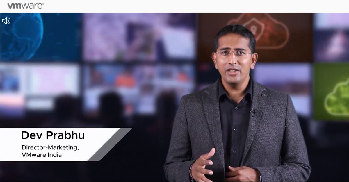 We're excited to kick off the @VMware Architects of What's Next 2020 virtually! @devkumarprabhu, Director - Marketing, #VMwareIndia welcomes attendees to celebrate the leaders who have been instrumental in evangelizing innovation & technology. #LeadForwardIN #AOWN #VMwareIN https://t.co/N2ff67XDgc