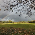 'Be a rainbow in someone else's cloud' – Maya Angelou… This lovely photo was taken by our Houseparent, Mr Lee! #copthorneprep #rainbow