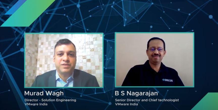 .@BSNagarajan, Sr. Director & Chief Technologist, #VMwareIndia talks about the latest #VMworld announcements, VMware's security & multi-cloud strategy & more in this insightful conversation with @muradwagh, Director -Solution Engineering, VMware India. #LeadForwardIN #AOWN https://t.co/RxgkODU2fv