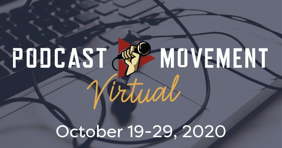 Are you ready for @podcastmovement virtual 2020? This year @Spreaker will not only be living tweeting during the event while also hosting a true-crime networking event and the opening party (filled with trivia and prizes!). See you there? https://t.co/EVx3hdz8gv