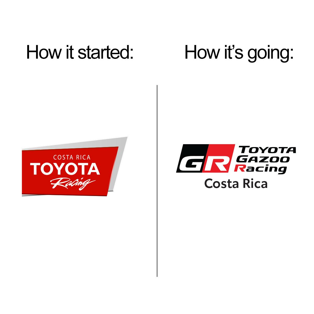 Toyota Racing ahora es Toyota Gazoo Racing Costa Rica, el perfil oficial en Facebook de la Escudería Toyota Gazoo Racing Costa Rica y el lugar ideal para estar al día con la participación de Toyota en las competencias del mundo. Dale me gusta en FB: https://t.co/unL822WS7M https://t.co/1Avy3b98SK