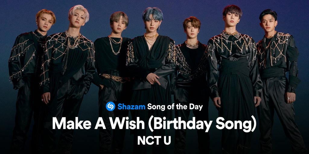 #MakeAWish by @NCTsmtown is our Song of the Day! Stream it now on @AppleMusic: apple.co/3dsfQPo 🎂 #NCT