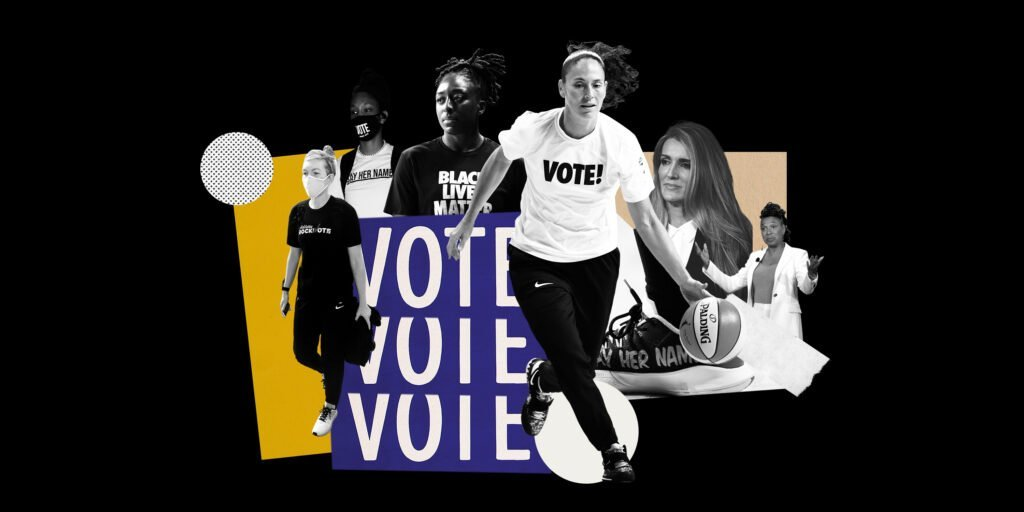 """""""We just have some amazing women that know how to get shit done.""""  A league of activists became a league of organizers, all while playing for a title. That's the story of the WNBA season.  @ChantelJennings dives deep on the evolution @TheAthletic: https://t.co/N4O5VE7P6n https://t.co/UfPZY5Feq3"""