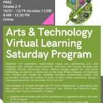 Image for the Tweet beginning: Register for online Saturday classes