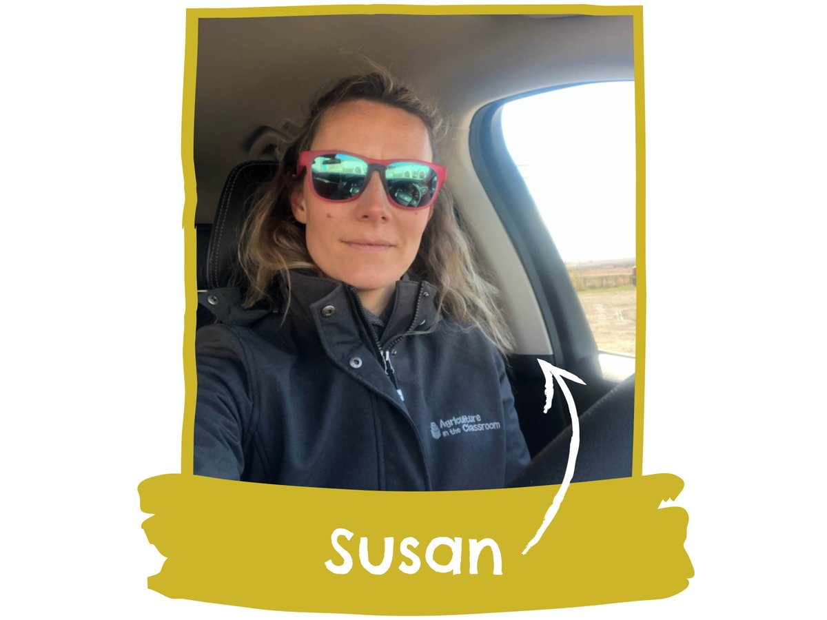 """Say hello to Susan, our Programs Manager!  """"I was so happy to be out of my home office for a day on the road!"""" Susan hit the road to video #SaskAg friends for a NEW resource about COVID-19's impact on SK's food system!  Thx Susan for your incredible leadership on #OurTeam! https://t.co/3FlWJwUX4S"""