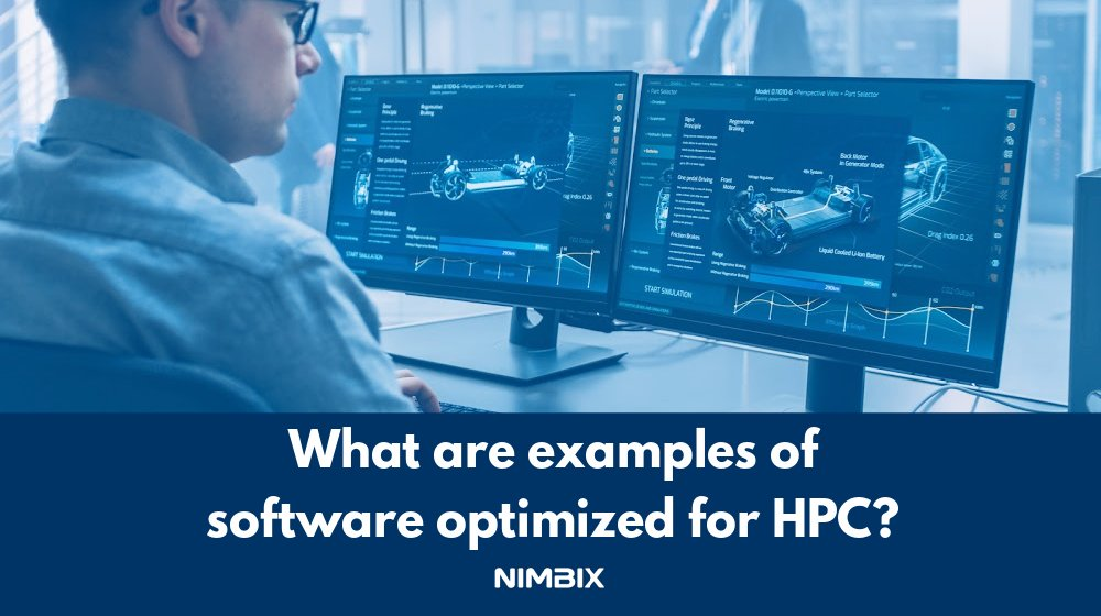 Learn what types of #software are most widely used with and optimized for #Cloud #HPC and see specific #CFD and #FEA software examples in this article https://t.co/sPAYZWQsWh https://t.co/e2qTyIEvxk