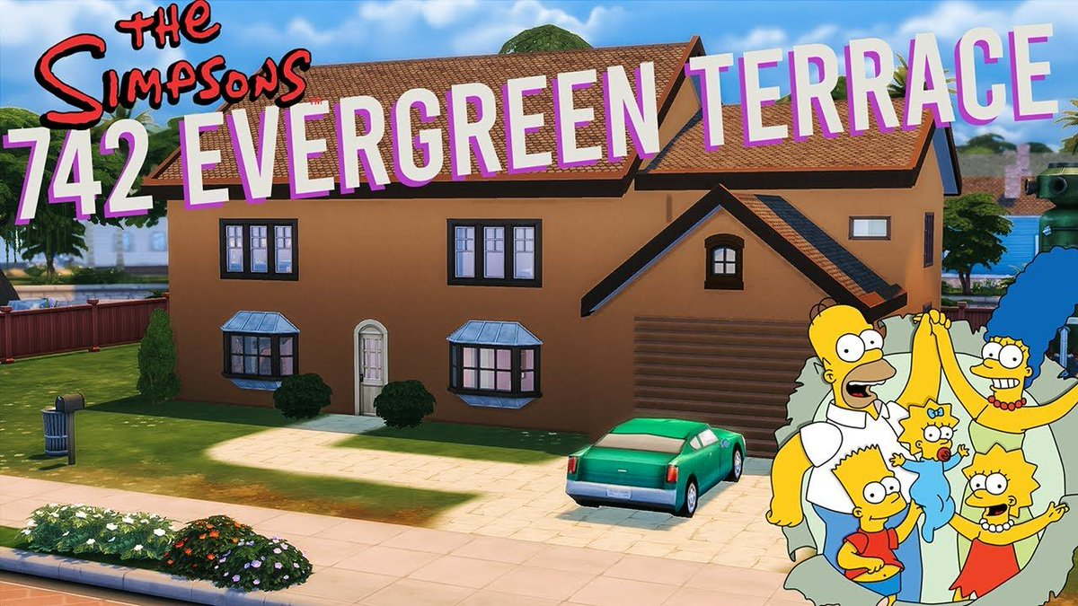 It's no Treehouse of Horror, but check out my Simpsons house build in #TheSims4 🏡  https://t.co/IhMTE5ymUe   // @GamerGalsRT @ShoutGamers @_NewYoutubers @simsfederation #gamingchannel #simpsons #gamingcommunity https://t.co/oSlmvg5zrL