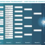 Image for the Tweet beginning: Polymaker Hook Tournament: Discover the brackets