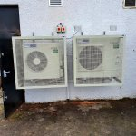Image for the Tweet beginning: Air Conditioning Install in Glasgow
