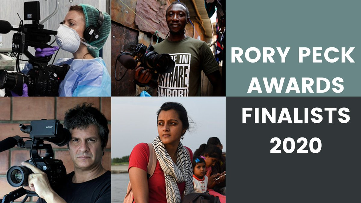 We've just announced our finalists for the🏆2020 Rory Peck Awards🏆selected from an incredible range of entries from around the world! See the rest here here:  https://t.co/xx6Zj2Nx3S https://t.co/1H79yluIKr