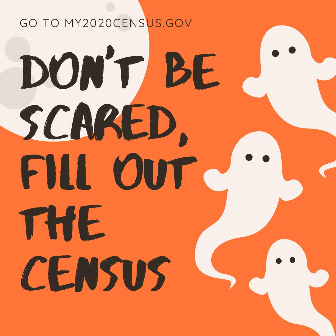 Today is the last day you can fill out the #2020Census, it isn't scary and only takes a few minutes! Go to https://t.co/eSKRCvHPyD to fill it out now! https://t.co/lgQ2Y5w5bP