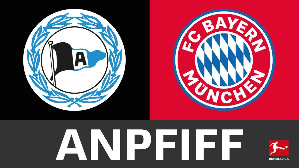David gegen Goliath: Die @arminia empfängt im #Bundesliga-Topspiel den @FCBayern.  #DSCFCB im Liveticker ➡️ https://t.co/tPmv3ntp5U https://t.co/eZMkbN8s6A