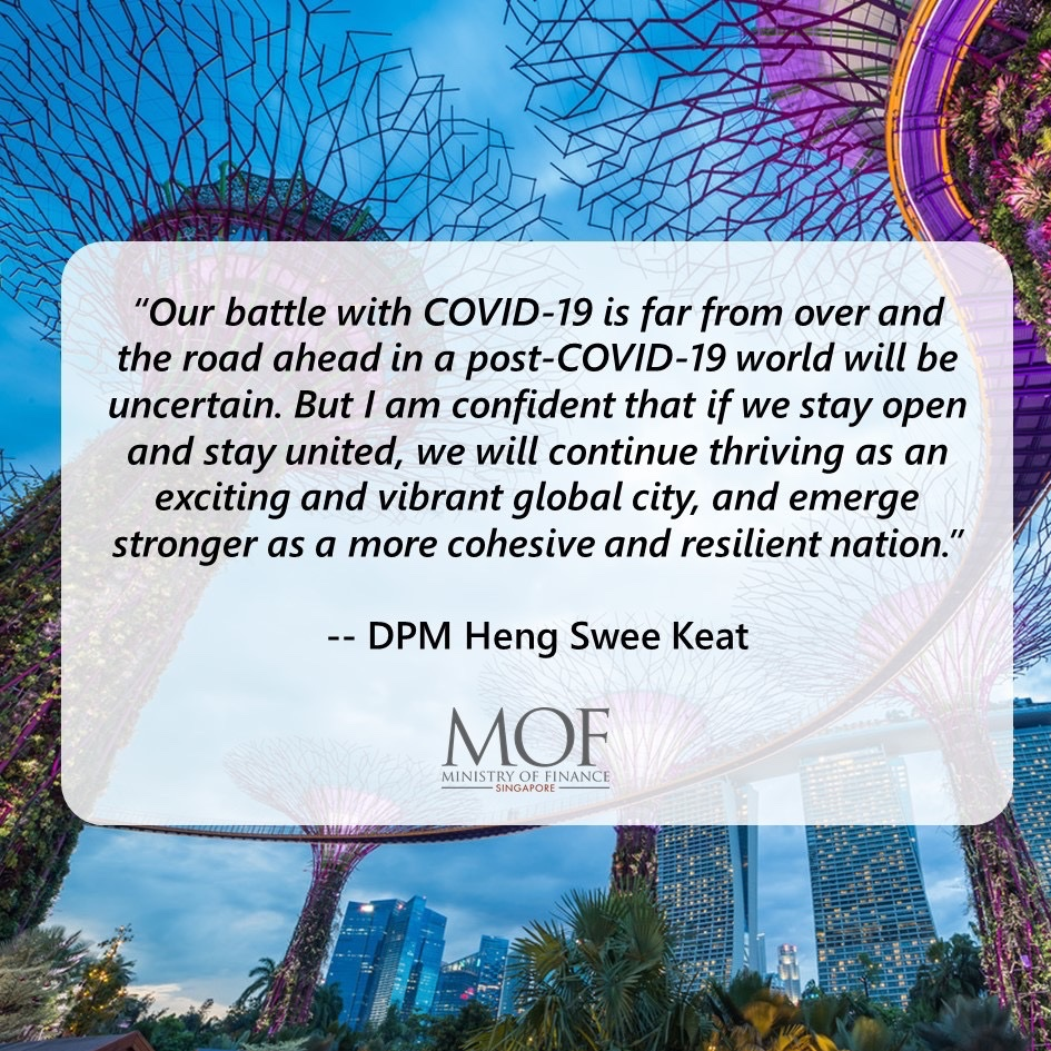 [Round-up Speech - Oct 2020] In his parliamentary round-up speech today, DPM Heng Swee Keat stressed that although we were in a stable position in our fight against COVID-19, we must stay vigilant and stay ahead of this virus. Read his full speech at https://t.co/Ui9dUQzIwt https://t.co/U0iaQGZYDR