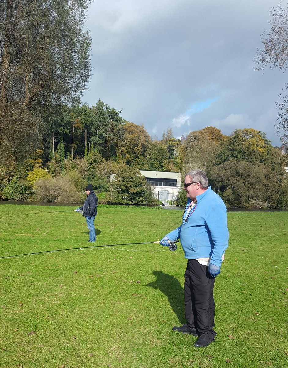 🎣 How are your fishing skills? 🎣  As part of #ActiveCorkOutdoors we are providing Prepare to Fish Opportunities for adults in Headway along the River Lee in association with @AnglingCouncil 🐠   #KeepCorkActive #CorkSportsAbility https://t.co/IdBloqJrRy