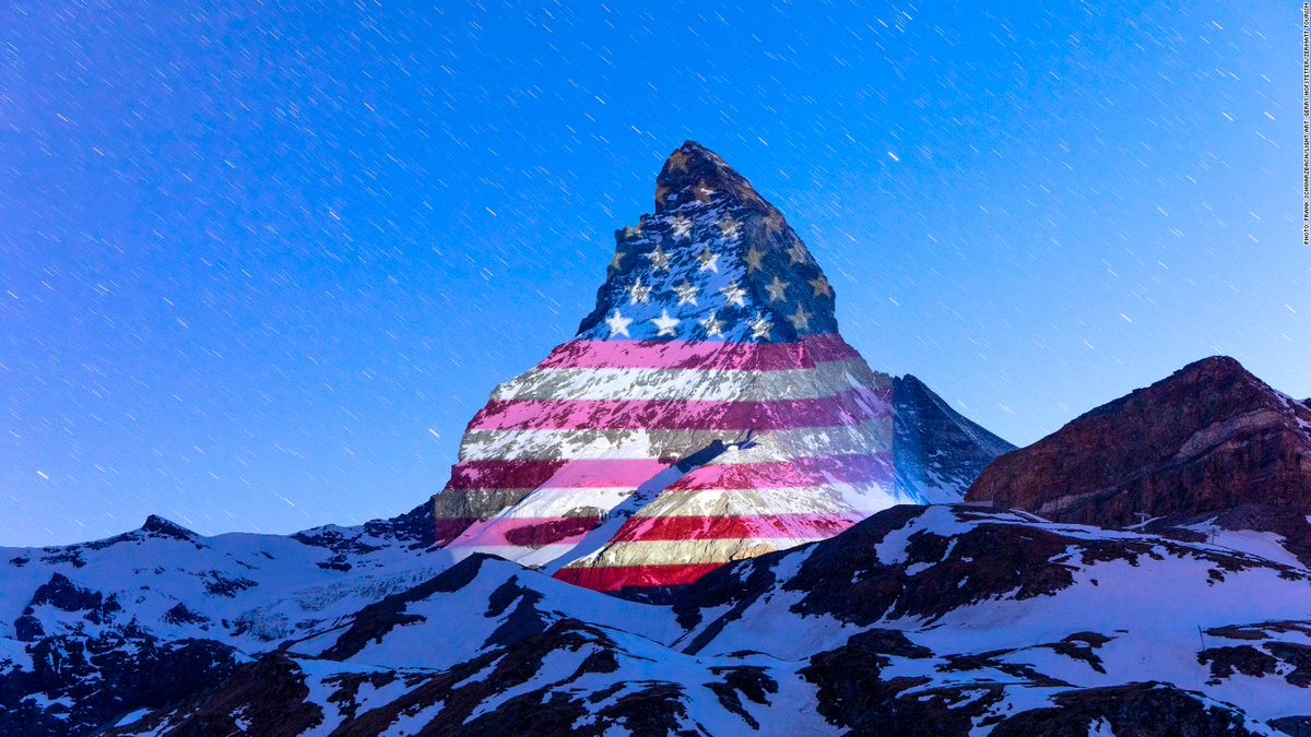 I wanted to give a well deserved shout-out to @MySwitzerland_e , the people of @zermatt_tourism and #GerryHofstetterto say Thank You❤️🙂!  What you did means a great deal to the American people. 💕👍👍 #Kindness #Thoughtfulness #Grace