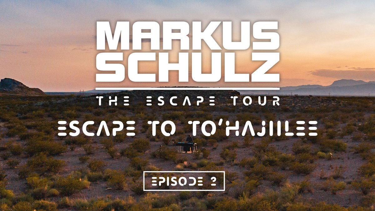 Episode 2 of the Escape Tour, and heading to a terrain which you may have seen in some famous television moments. Come with me and Escape to To'hajiilee.   Live video set now at https://t.co/POmymmSFrm https://t.co/NfTOEzqt4T