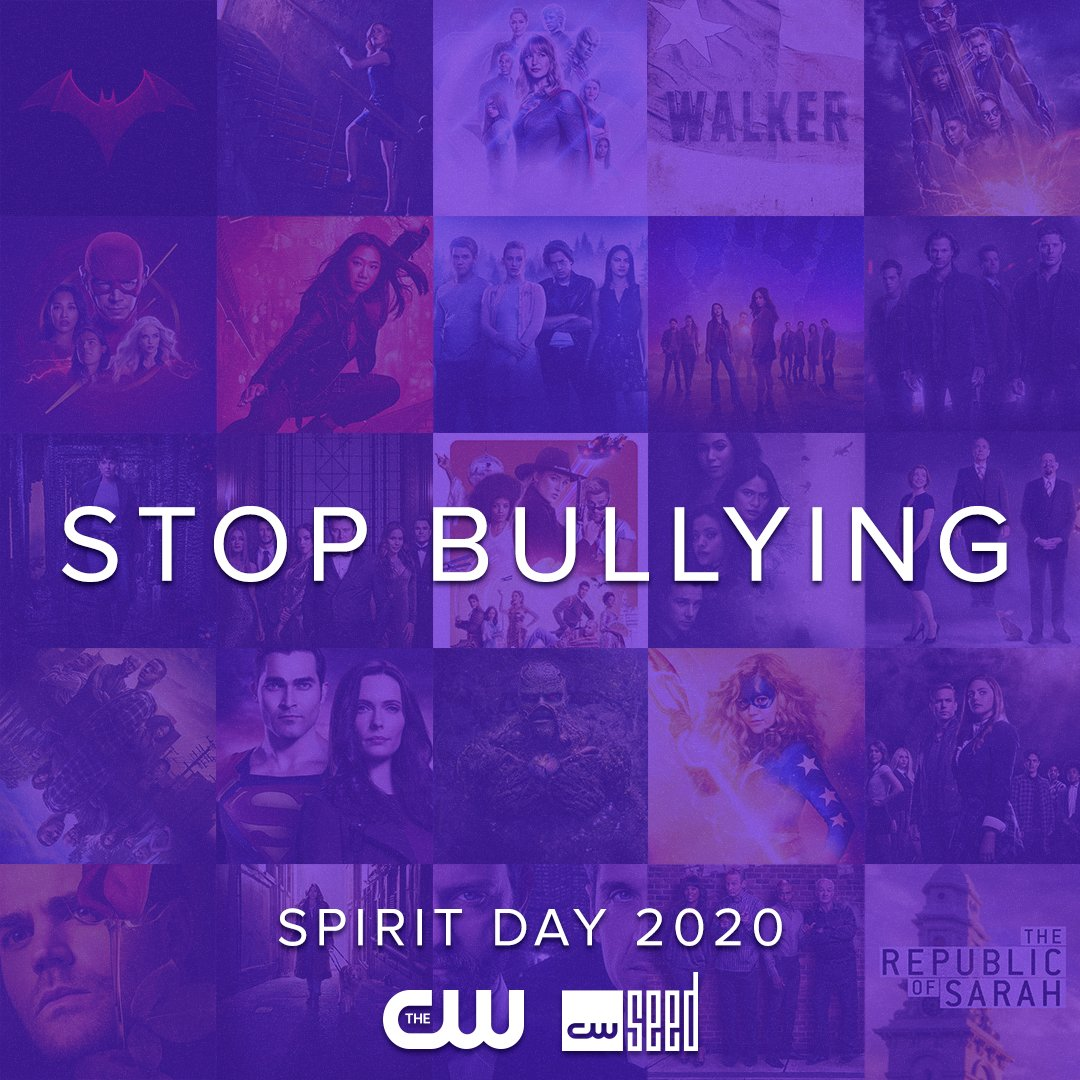 It's #SpiritDay! Go purple now to take a stand against bullying and to support LGBTQ+ youth.https://t.co/OtXE1zeW1Q https://t.co/aKaRDwjv3m