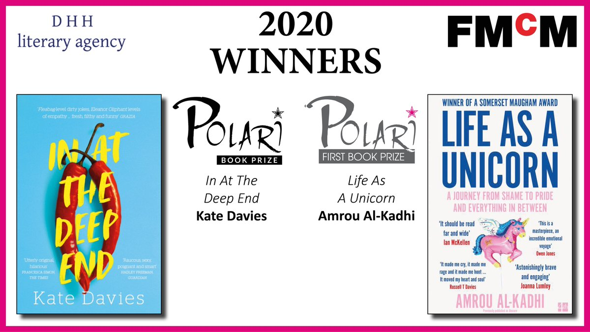 Thanks for tuning in, everyone! Thanks to our prize judges - @vglee_lee @AndrewPoetry @NCWChris @suzifeay @stagecerys Keith Jarrett and Rachel Holmes. And congratulations once again to our two #PolariPrize winners - @glamrou and @Katyemdavies #LGBTQ #LGBTQIAofTwitter