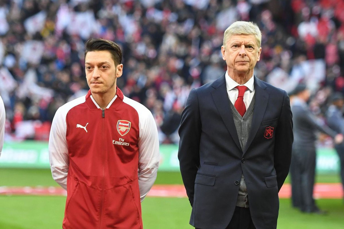 He was Arsène Wenger's man, and he always will be.