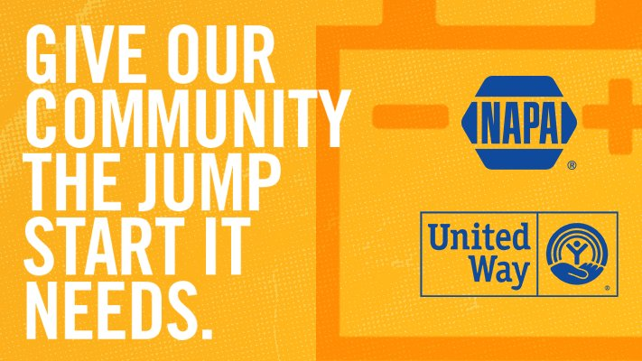 Together, @NAPAKnowHow and United Way are helping those in need get a fresh start. 💛 Through Oct. 31, donate $1 or more at participating NAPA Auto Parts stores or at https://t.co/vTGTXkpQp5 and 100% of donations will benefit United Way.  #NAPAFreshStart #LiveUnited https://t.co/1L21uRfdFD https://t.co/WAVnPKPkv1
