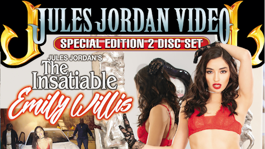 Jules Jordan Video Announces Release of The Insatiable Emily Willis Star Showcase ow.ly/ZMeV50BTyZz @emilywillisxoxo @JulesJordan
