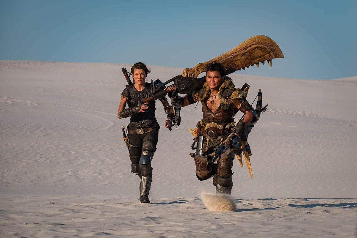 Monster Hunter Trailer Featuring Milla Jovovich