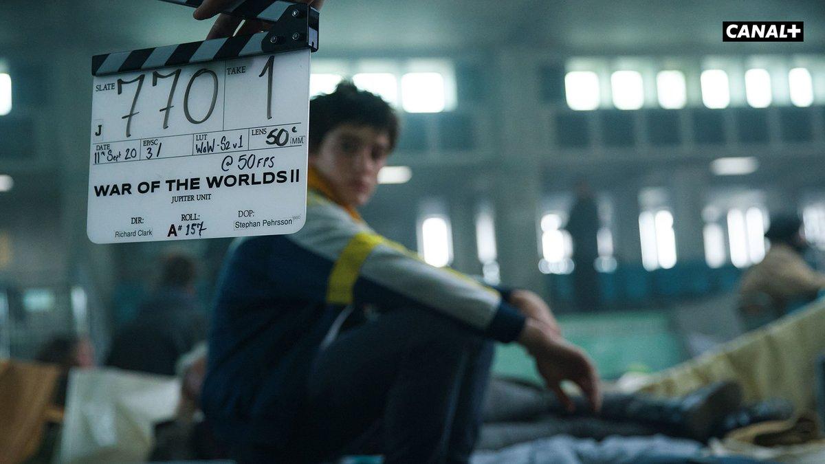 Et action ! Le tournage de la saison 2 de La Guerre des Mondes est cours 🎬  #LGDM La Guerre des Mondes, Saison 2, bientôt sur CANAL+ https://t.co/81MvVKokGU