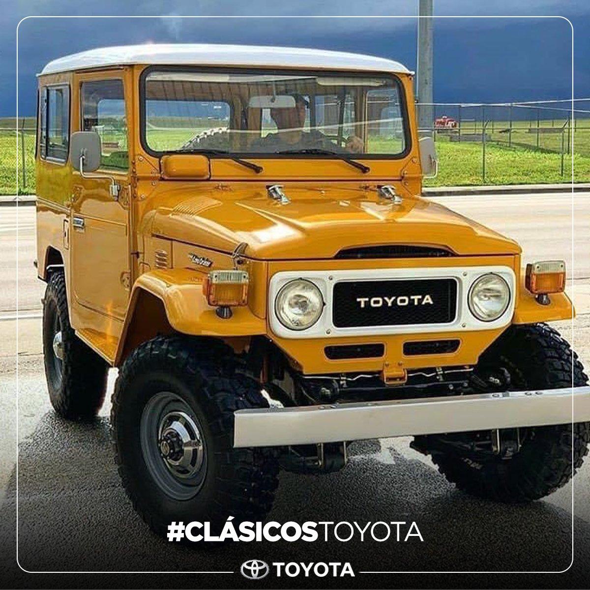 ¡Lo clásico nunca pasa de moda!  #toyota #landcruiser #clasicostoyota https://t.co/mNlXuSOpU7