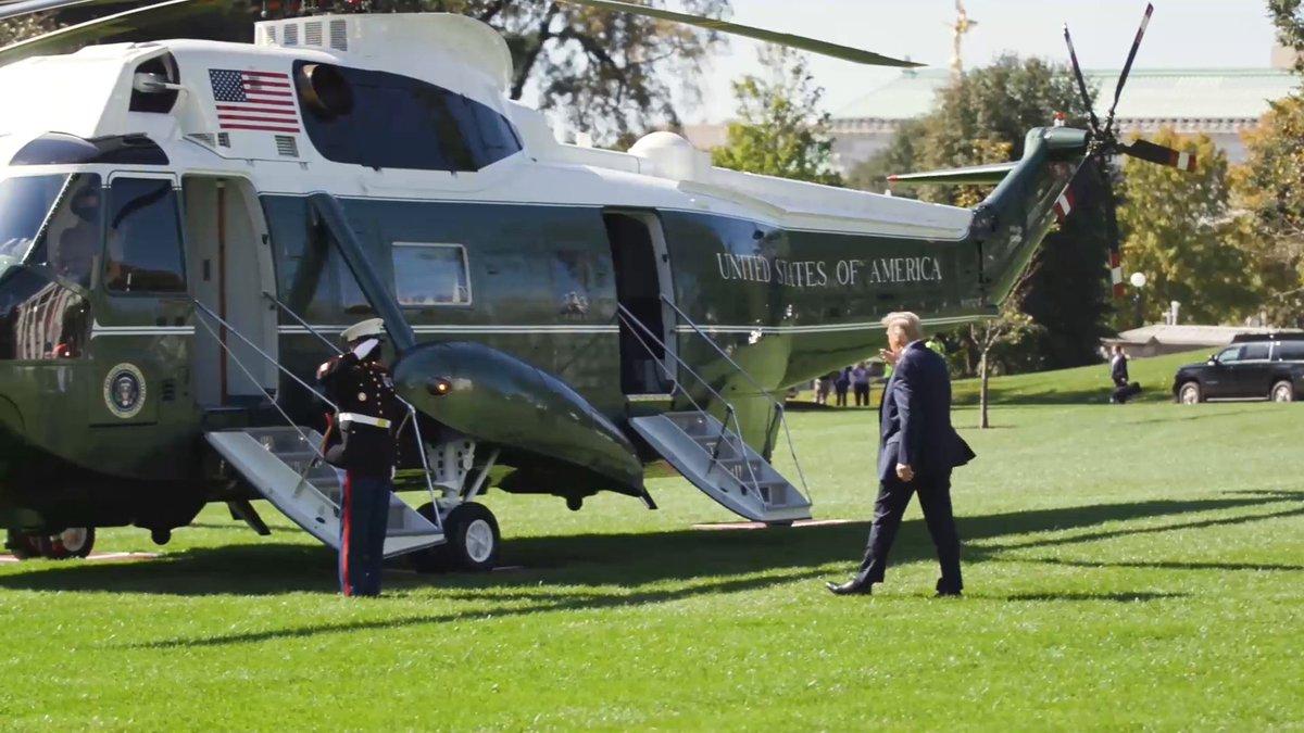 President @realDonaldTrump is heading to North Carolina and Florida today! 🇺🇸