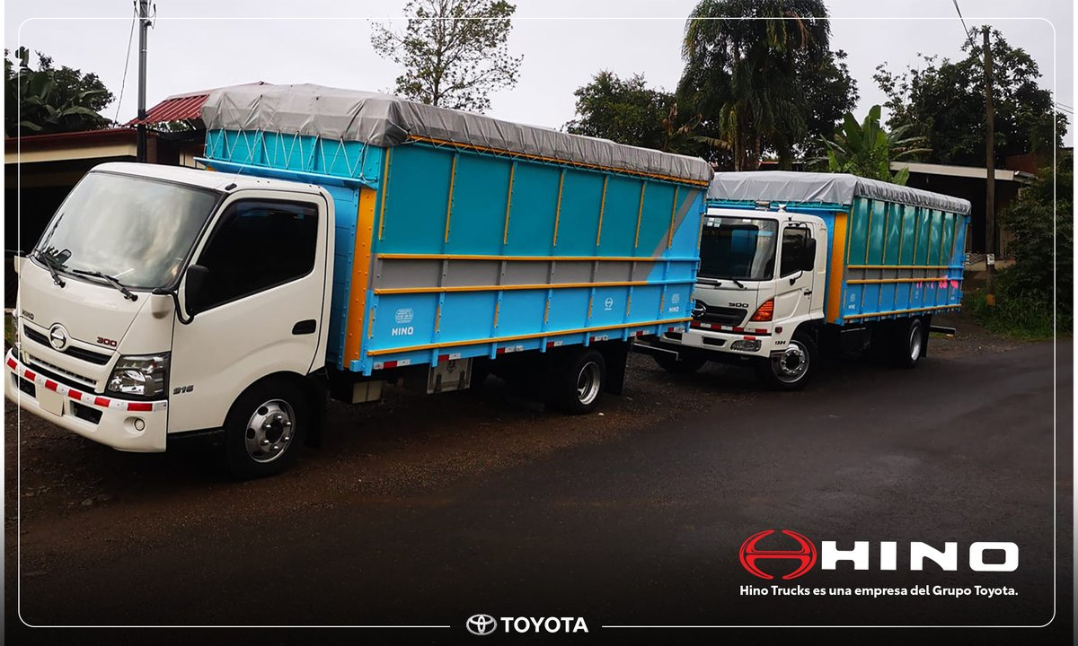 ¿Sabías que HINO Trucks es una empresa del Grupo Toyota? 💪   📸 Jeffry Alvarado   #hino #toyota https://t.co/jhuxIYHbcJ