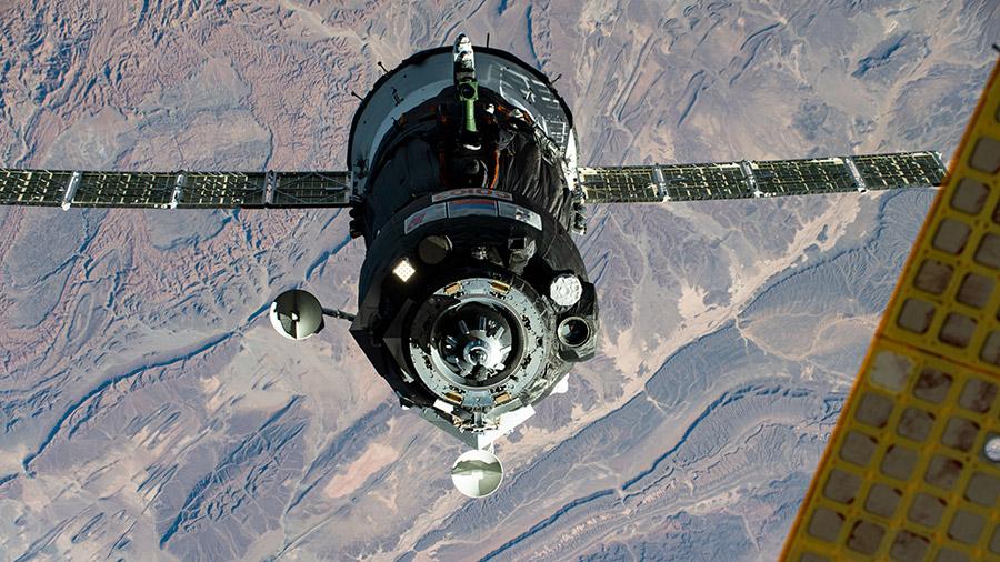 Союз МС 17, фото НАСА