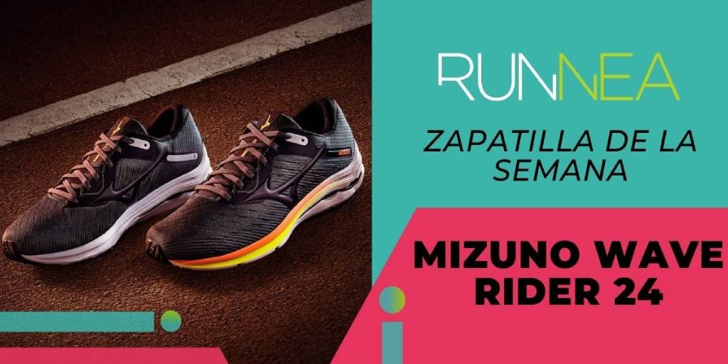 ✨Zapatilla de la semana: Mizuno Wave Rider 24  🔸Para corredores neutros 🔹Nueva tecnología de amortiguación Mizuno ENERZY. 🔸Experiencia de carrera más cómoda, suave y dinámica.   ¿Quieres saber más? 👉 https://t.co/DV9ZCEJiwm https://t.co/JD2Hafo2Dt