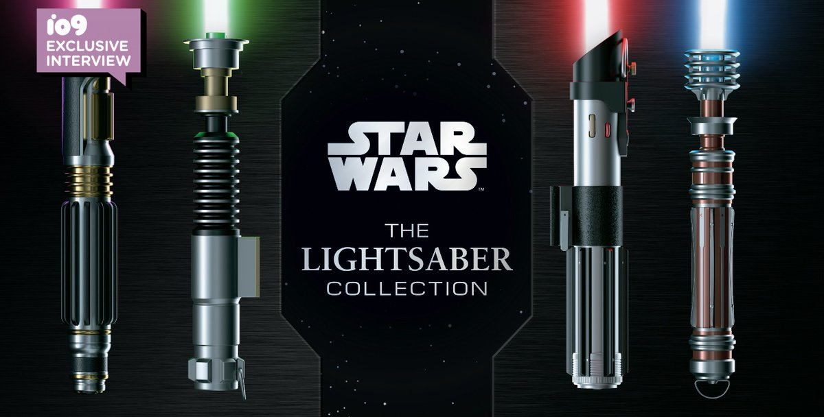 The story behind the ultimate Star Wars lightsaber book https://t.co/tsibXtmdZh https://t.co/XQkzXDqWpw