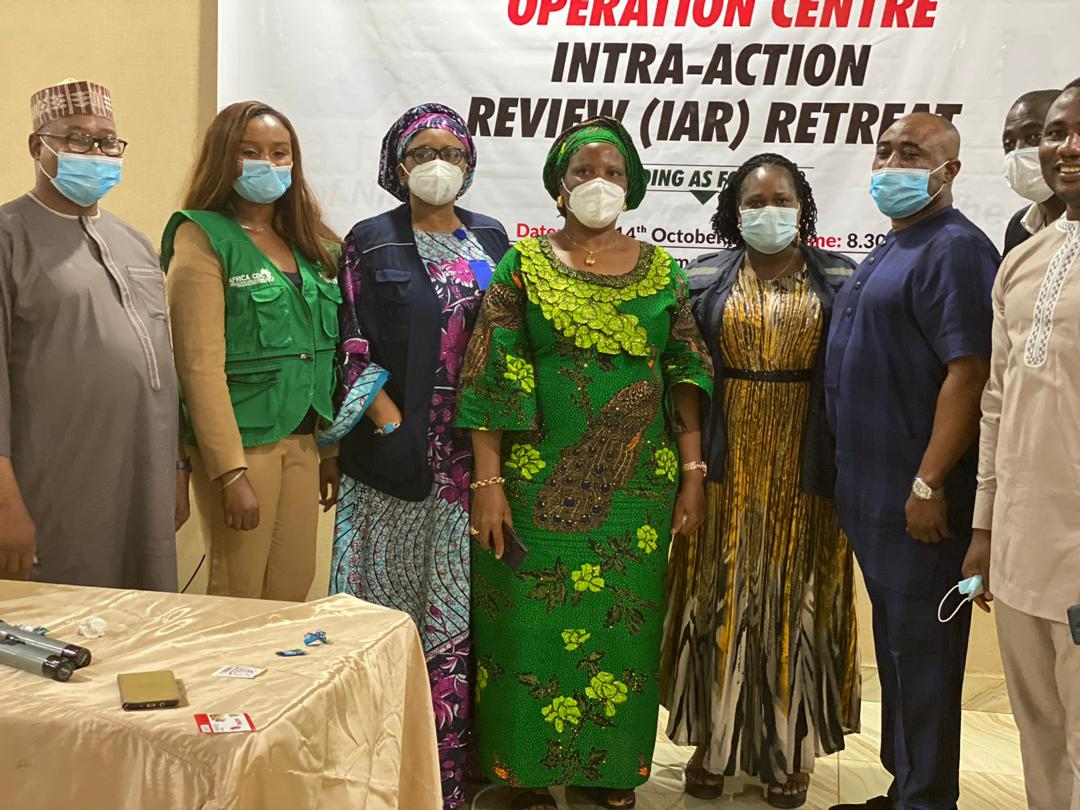 The 2day FCT COVID-19 intra action review(IAR) retreat enabled stakeholders involved in the response to share experiences, identify challenges, best practices and restrategize for more effective all inclusive decentalised response. #FCT1sttoconductIAR