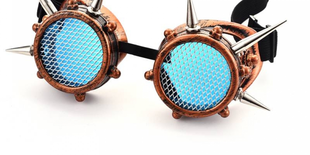 #steampunk Unisex Steampunk Goggles Rivet Cyber https://t.co/p3XHT3ckAC 42.50