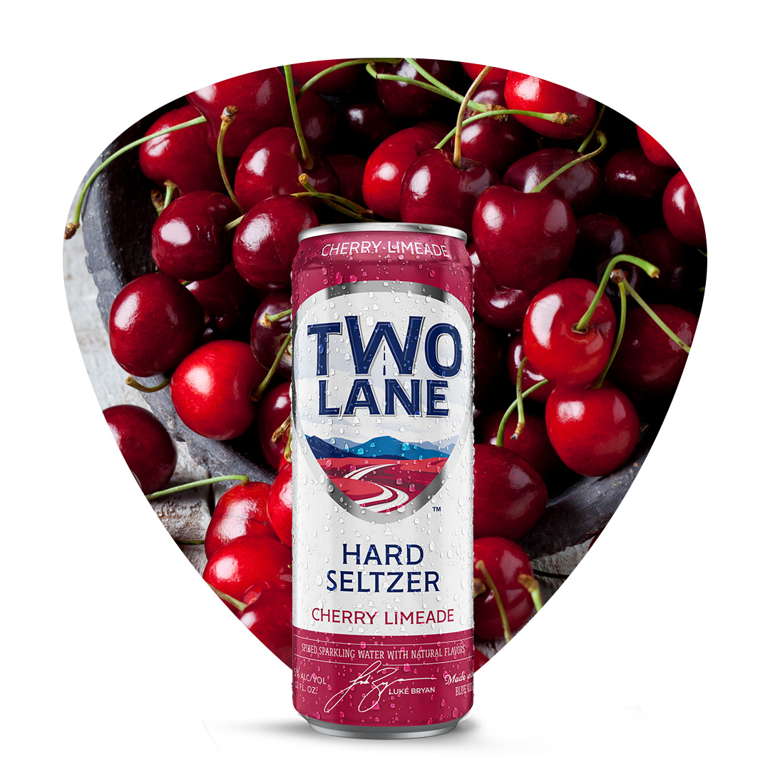 There's nothing like fresh southern cherries, but our seltzer is a close second. #twolaneseltzer